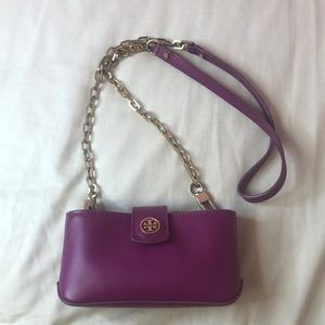 Tory Burch Leather Mini Robinson Crossbody